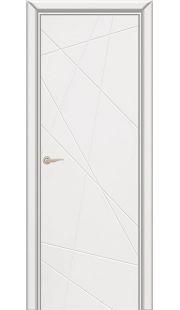 Дверь Юркас Граффити 5 ДГ (белая эмаль)