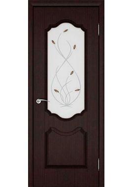 Дверь МДФ - Орхидея ПО (4 цвета)