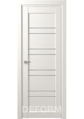 Межкомнатные двери Deform D15 (5 цветов отделки)