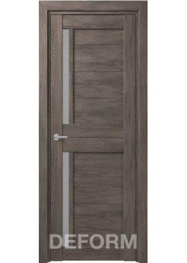 Межкомнатные двери Deform D17 (5 цветов отделки)