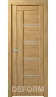 Межкомнатные двери Deform D18 (6 цветов отделки)