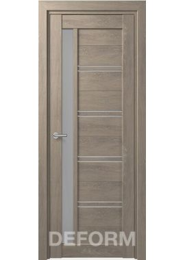 Межкомнатные двери Deform D19 (6 цветов отделки)