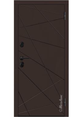 "Входные двери ""МетаЛюкс"" Стандарт М602/1z"