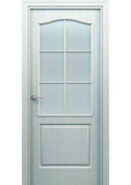 Дверь МДФ - Классика ПО белого цвета