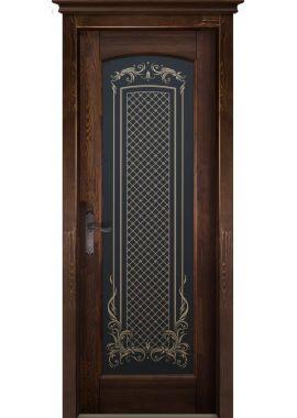 Двери Ока - Витраж ДО (сосна, 8 цветов)