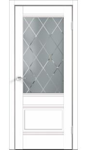 Двери Velldoris - Alto 2V ПО (белый эмалит)
