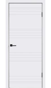 Двери Velldoris - Scandi N ПГ (белая эмаль)
