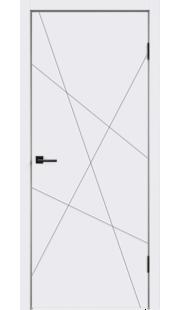 Двери Velldoris - Scandi S ПГ (белая эмаль)