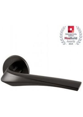 Ручка дверная ARMADILLO - Flame URS BL-26 (чёрный)