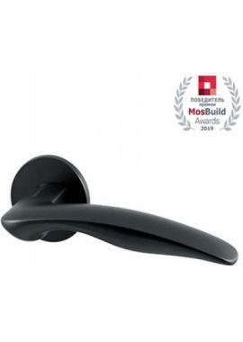 Ручка дверная ARMADILLO - Wave URS BL-26 (чёрный)