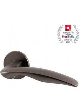 Ручка дверная ARMADILLO - Wave URS BPVD-77 (вороненый)