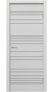 Двери МДФ Техно - STEFANY 1023 (белый)
