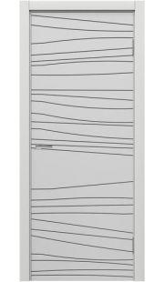 Двери МДФ Техно - STEFANY 1025 (белый)
