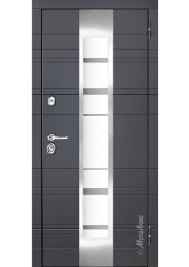 """Входные двери """"МетаЛюкс"""" Элит М66/1"""