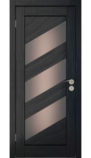 Двери ИСТОК Диагональ -2 (7 цветов отделки)