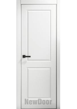 Дверь в эмали НьюДор 1 ПГ (белая)