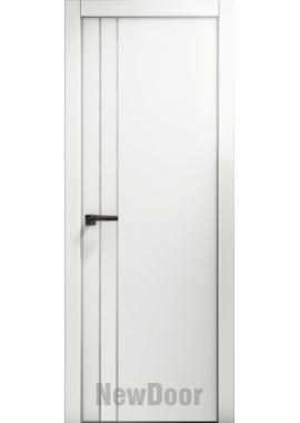 Дверь в эмали НьюДор 11 ПГ (белая)