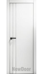 Дверь в эмали НьюДор 12 ПГ (белая)