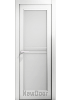 Дверь в эмали НьюДор 15 ПО (белая)