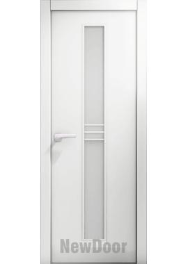 Дверь в эмали НьюДор 16 ПО (белая)
