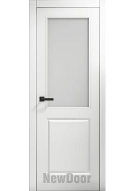 Дверь в эмали НьюДор 2 ПО (белая)