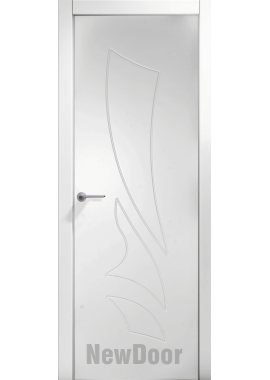Дверь в эмали НьюДор 21 ПГ (белая)