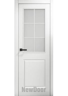 Дверь в эмали НьюДор 3 ПО (белая)