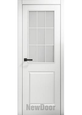 Дверь в эмали НьюДор 4 ПО (белая)