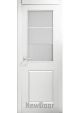 Дверь в эмали НьюДор 5 ПО (белая)