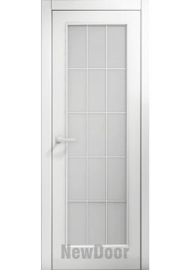 Дверь в эмали НьюДор 7 ПО (белая)