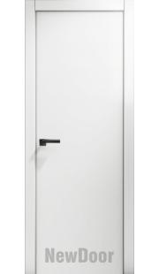 Дверь в эмали НьюДор 8 ПГ (белая)