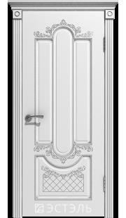 Двери Эстэль - Александрия ПГ (белая эмаль)