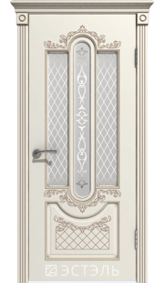 Двери Эстэль - Александрия ПО (слоновая кость)