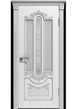 Двери Эстэль - Александрия ПО (белая эмаль)