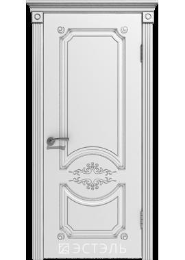 Двери Эстэль - Милана ПГ (белая эмаль)