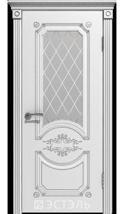 Двери Эстэль - Милана ПО (белая эмаль)
