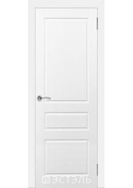 Двери Эстэль - Честер ПГ (белая эмаль)