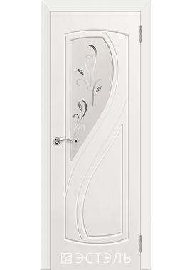 Двери Эстэль - Грация ПО (белая эмаль)