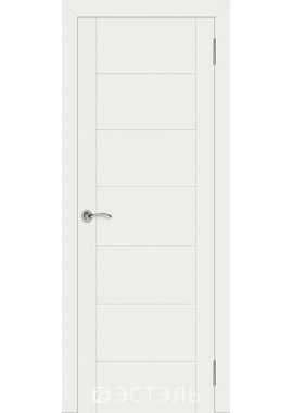 Двери Эстэль - Граффити 6 ПГ (белая эмаль)