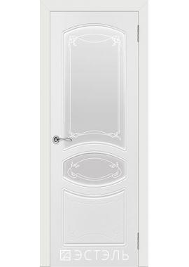 Двери Эстэль - Версаль ПО (белая эмаль)