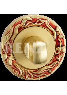 Завертка к ручкам RENZ - BK 20 (антикварное золото)