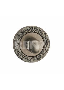 Завертка к ручкам RENZ - BK 20 (серебро античное)