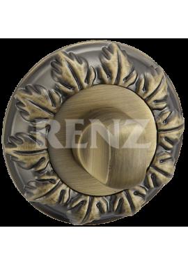Завертка к ручкам RENZ - BK 10 (античная бронза)