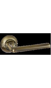 Ручка дверная RENZ - Тренто (античная бронза)