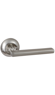 Ручка дверная RENZ - Бруно (хром матовый)