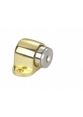 Ограничитель дверной магнитный RENZ - DSM 32 (латунь)