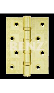 Петли универсальные RENZ - DECOR MR 100-4BB FH (латунь)