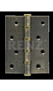 Петли универсальные RENZ - DECOR MR 100-4BB FH (бронза)