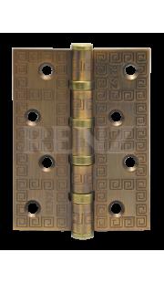 Петли универсальные RENZ - DECOR MR 100-4BB FH (кофе)