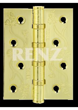 Петли универсальные RENZ - DECOR FL 100-4BB FH (латунь)